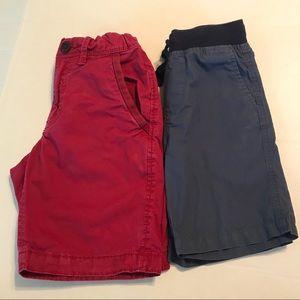 NAUTICA / GAP KIDS 6 Set of Boys Shorts Red Blue